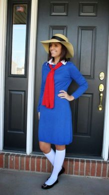 15 book character Halloween costumes for teachers: Madeline Halloween Costume: