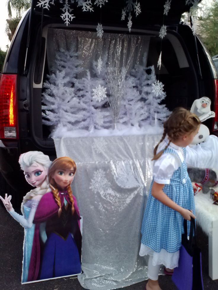 frozen trunk or treat Google Search Halloween