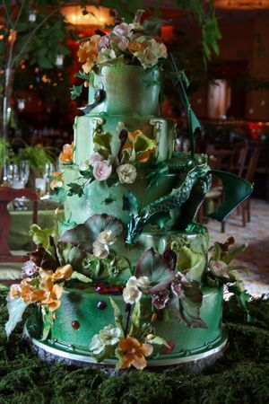 1000 Images About Enchanted Forest Theme Wedding Cakes On