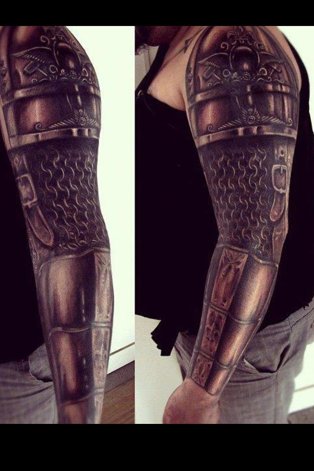 Tattoo armor Armor tattoo Pinterest Armors, Sleeve