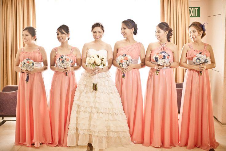 Yul And Iya's Vintage Travel Themed Wedding