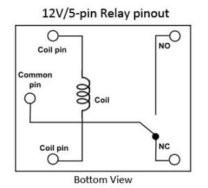 ordinary 12v 5 pin relay pinout  Google Search | Device