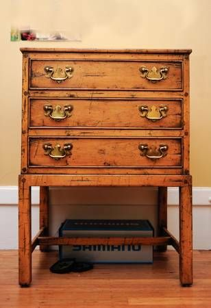 Melrose Collection By Guy Chaddock Chest Of Three Drawers