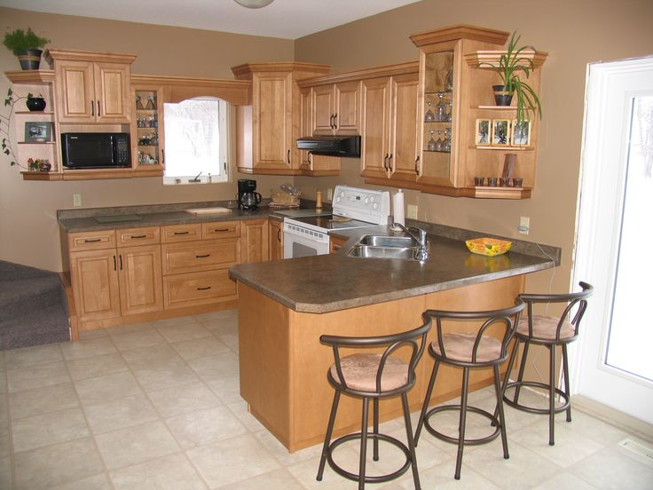 Cabinets Maple Wheatfield Countertops Wilsonart Laminate Deepstar Agate Kitchen
