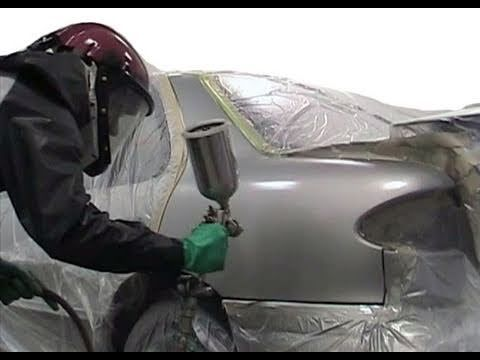 How To Paint Your Car Yourself Auto Body Repair Part 2 Of