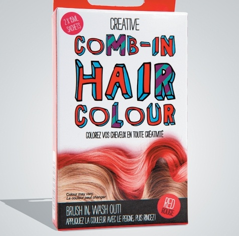 b in hair color kit don t worry if a red streak doesn t go with your nine to five persona