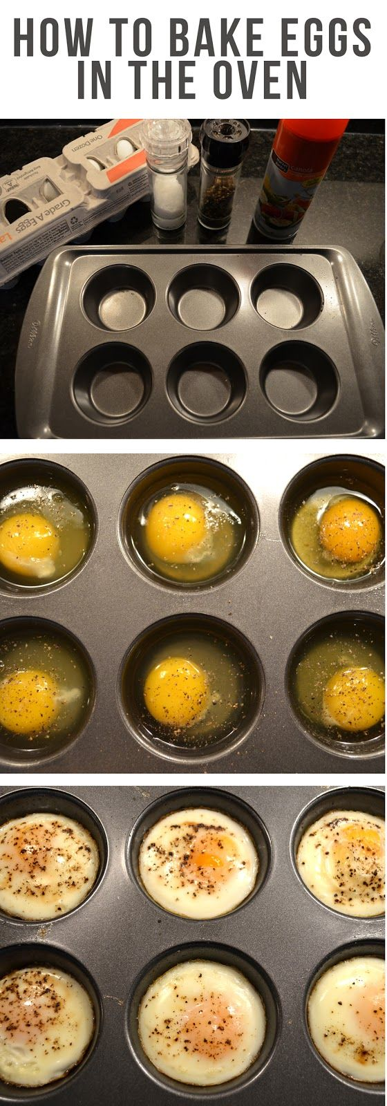 Set your oven to 350F (180C), grease a muffin tin with non stick cooking spray a