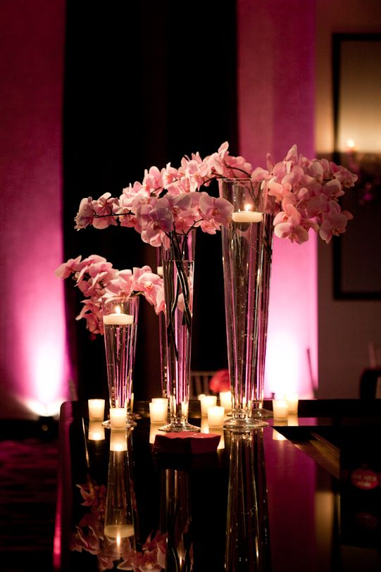 17 Best Images About Girly Bat Mitzvah Flower Ideas On