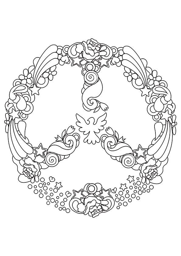 coloring pages on pinterest hippie art coloring pages and dover