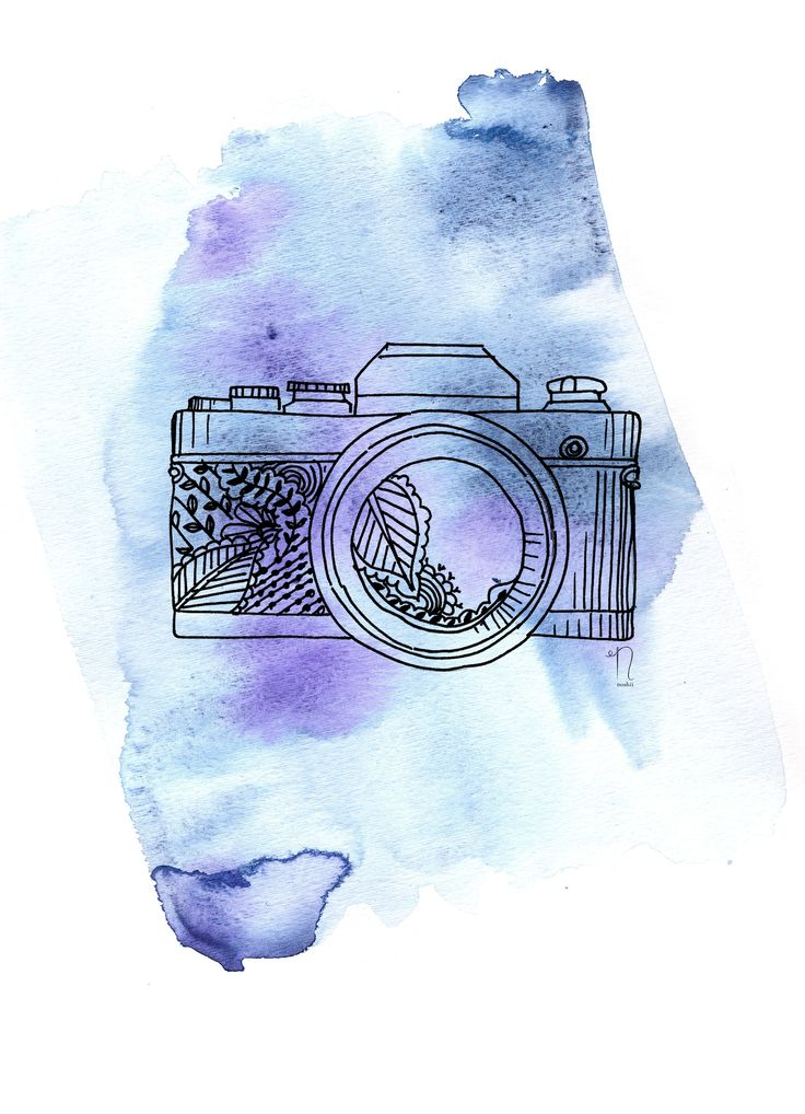 Camera Print (More Colors) A WellCrafted