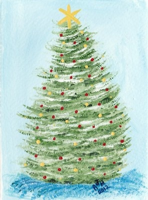 20 Best Ideas About Painted Christmas Cards On Pinterest