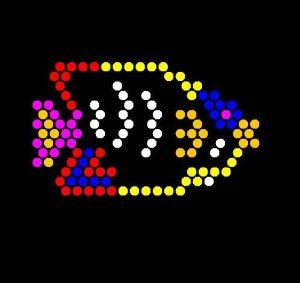 image relating to Lite Brite Templates Printable named Gentle Brite Templates. lite brite and motorcycles upon pinterest