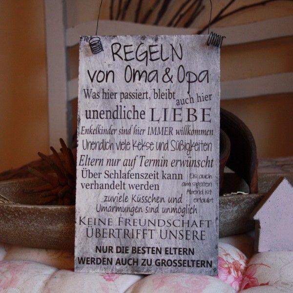 Kissenbezge Kissen Spruch Eltern Groeltern Geschen Herzenssprche