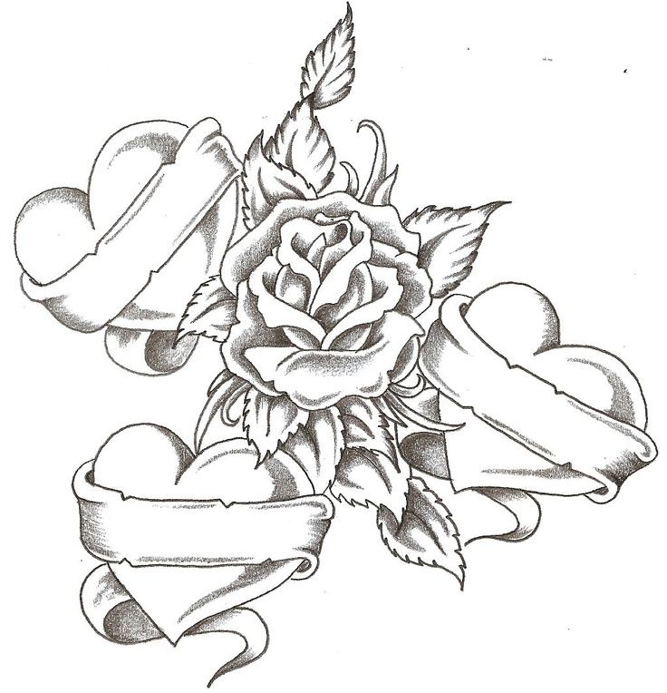 cool heart coloring sheets free heart & rose coloring  i