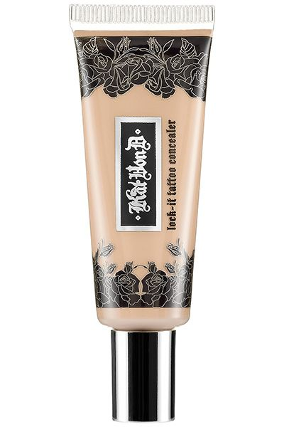 Kat Von D Lock-It Tattoo Concealer An unlikely contender in the stakes for excellent concealers, this full-coverage concealer