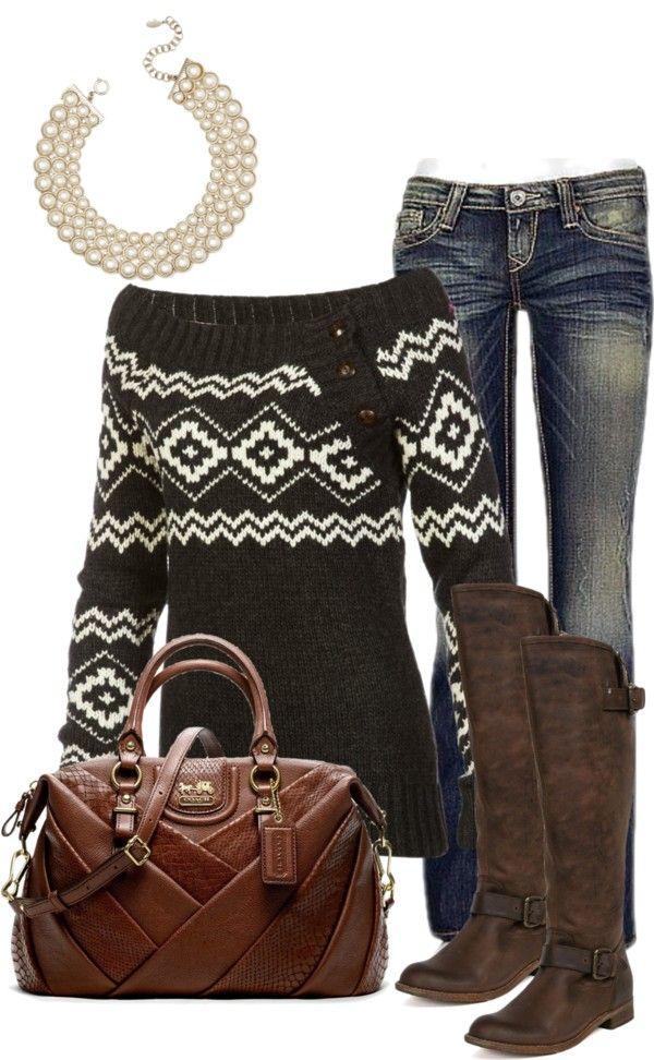 Winter weekender outfit