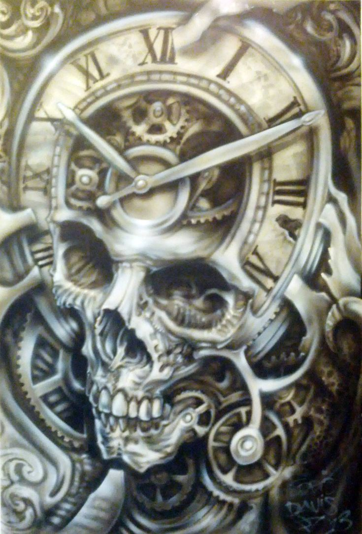 Father time Drawing/tattoo ideas Pinterest Time