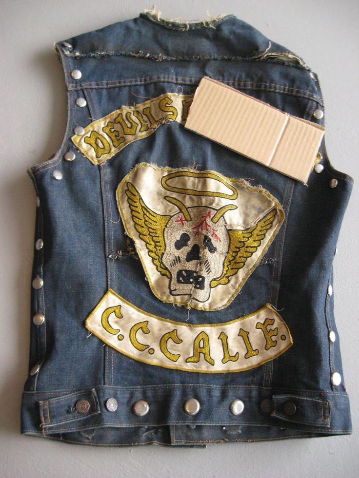 Back Clubs Patches Vests Motorcycle Pictures