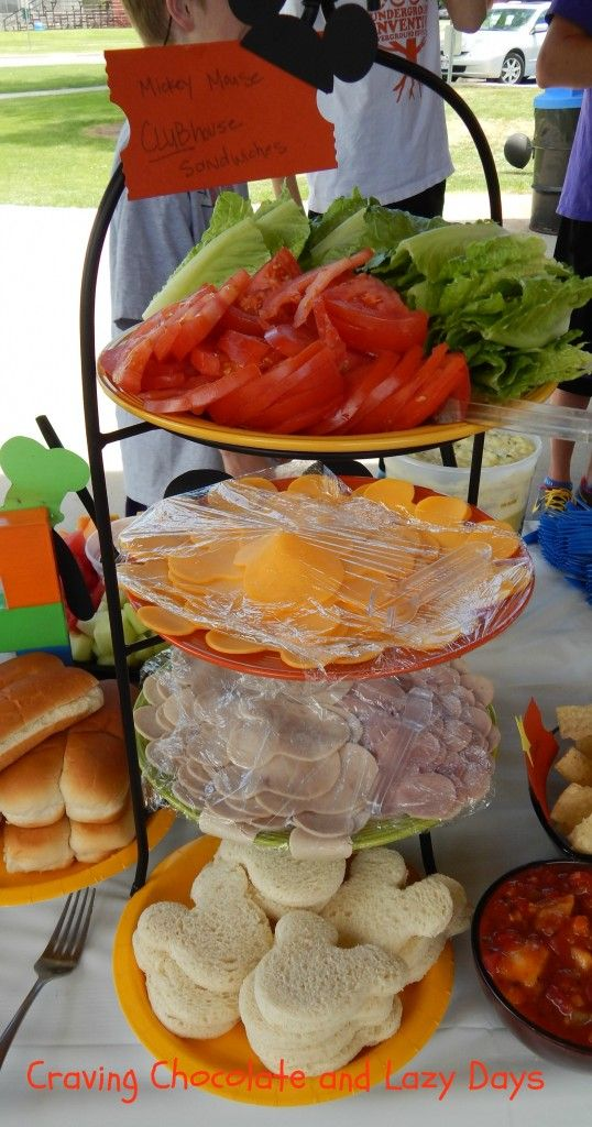 Mickey Mouse Clubhouse Birthday Party Food -2 of 5