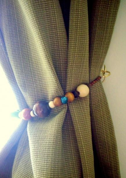 DIY Curtain Tie Backs CURTAINS TIEBACKS Amp RODS DIY Pinterest Design Ties And Curtain
