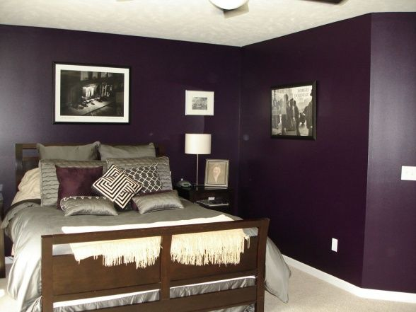 1000 Images About Purple Bedroom On Pinterest The. Plum Bedroom Walls   Bedroom Style Ideas