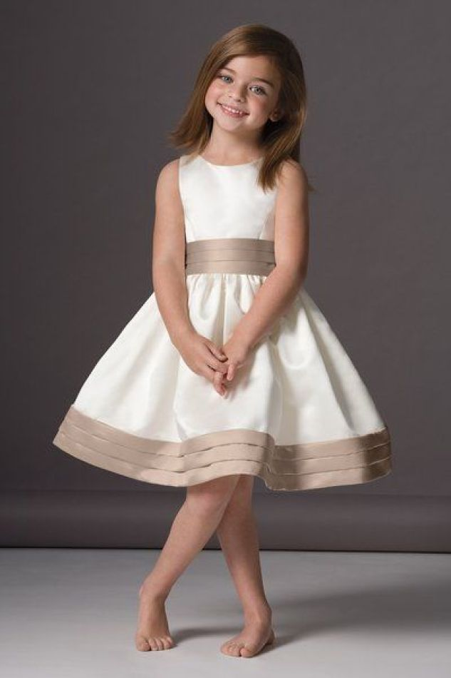 I think my little flower girl would look cute in this too!: