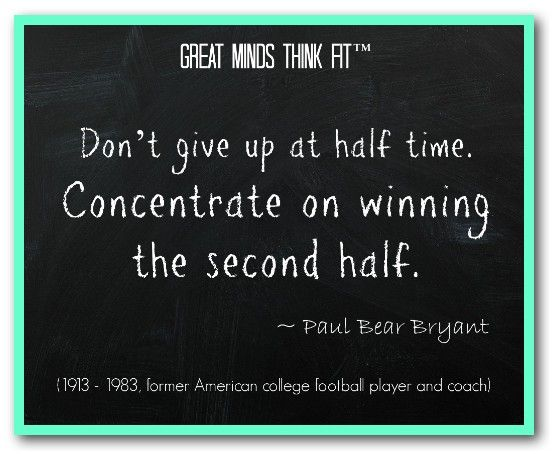 Famous #Football #Quote by Paul Bear Bryant