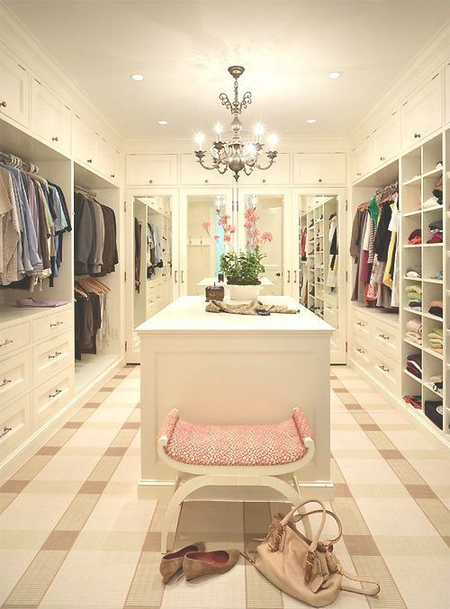 Oh ya I need this closet 3000 square feet. It's the average persons whole house!:
