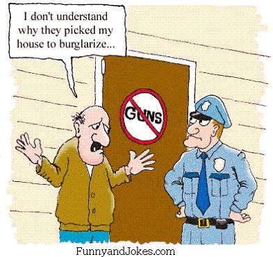 Image result for cartoon of anti-gun person