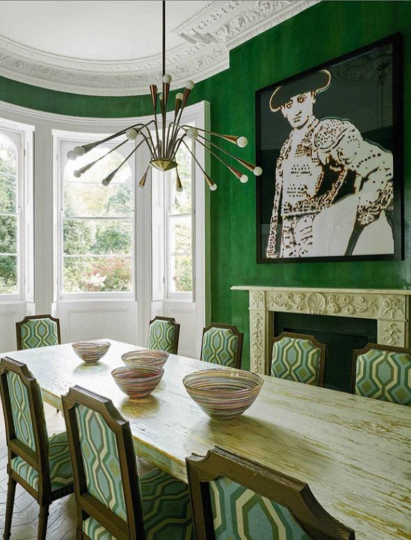 Ad Spain Notting Hill Family House Madduxcreative Dining