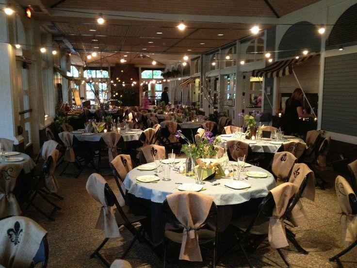 Outdoor Wedding Ceremony Amphitheater Indoor Reception Centennial Lakes Park Hughes