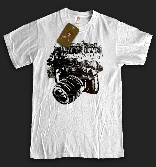 Graphic Design photography camera TShirt paparazzi funny