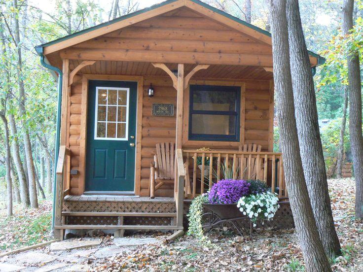 Favorite cabin at Hobson Farms near Turkey Run State Park