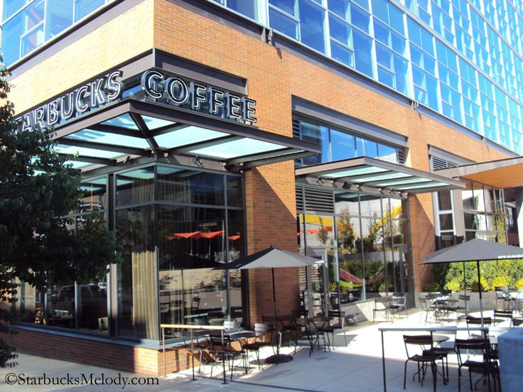 Stunning Starbucks storefront. Terry & Republican