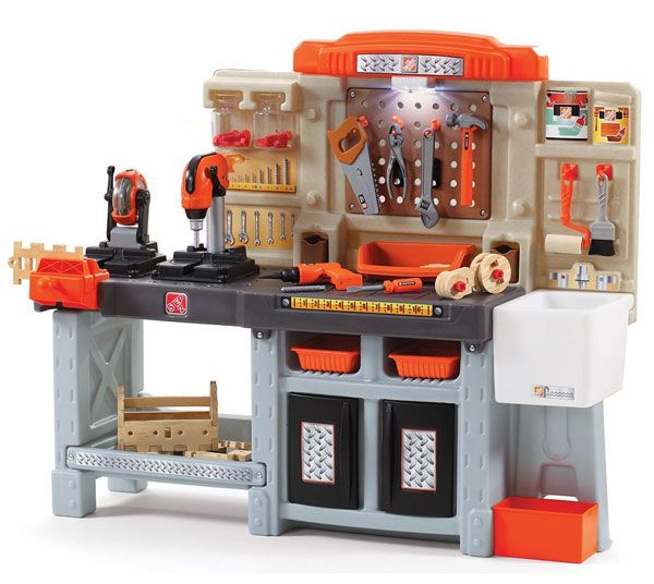 Toddlers Work Bench Toy Step2 Home Depot Master