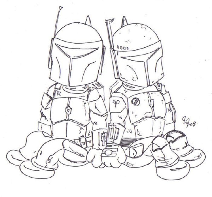 lego star wars jango fett coloring pages coloring pages