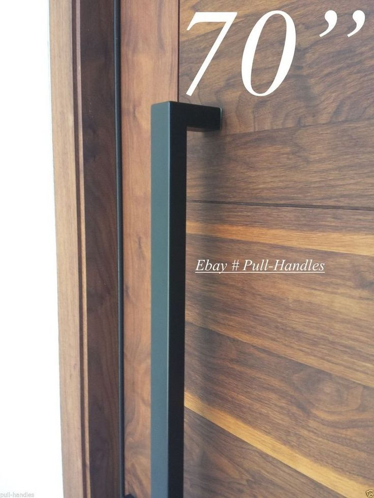 Entry Front Door Long Door Pull Handle Stainless Steel
