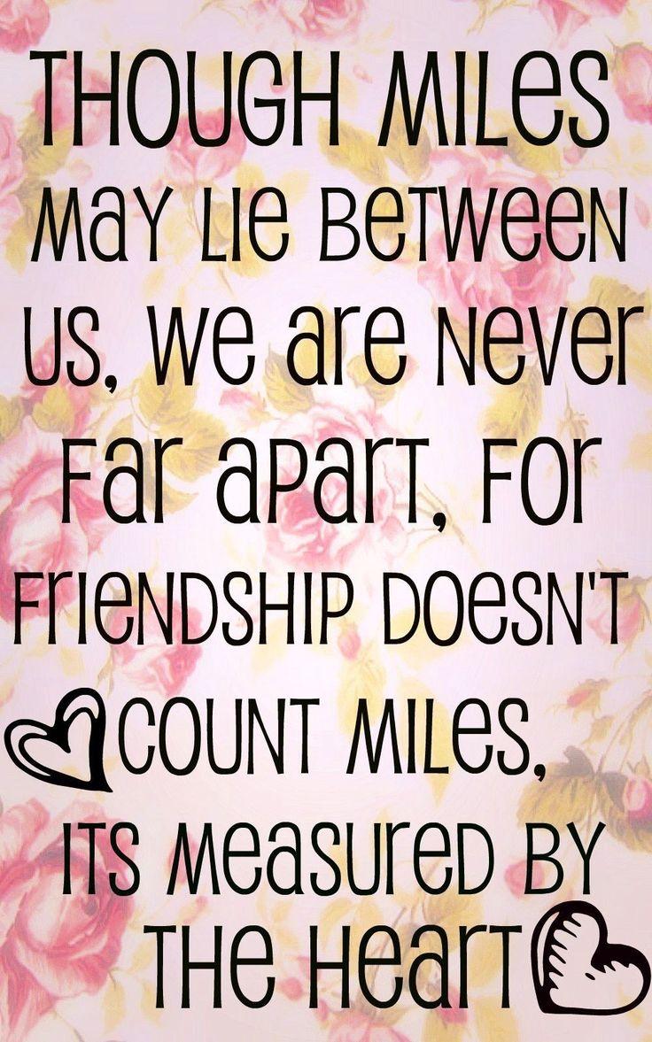 Friendship has no borders Quotes Pinterest