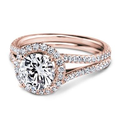 i want it.  Rose Gold Engagement Ring