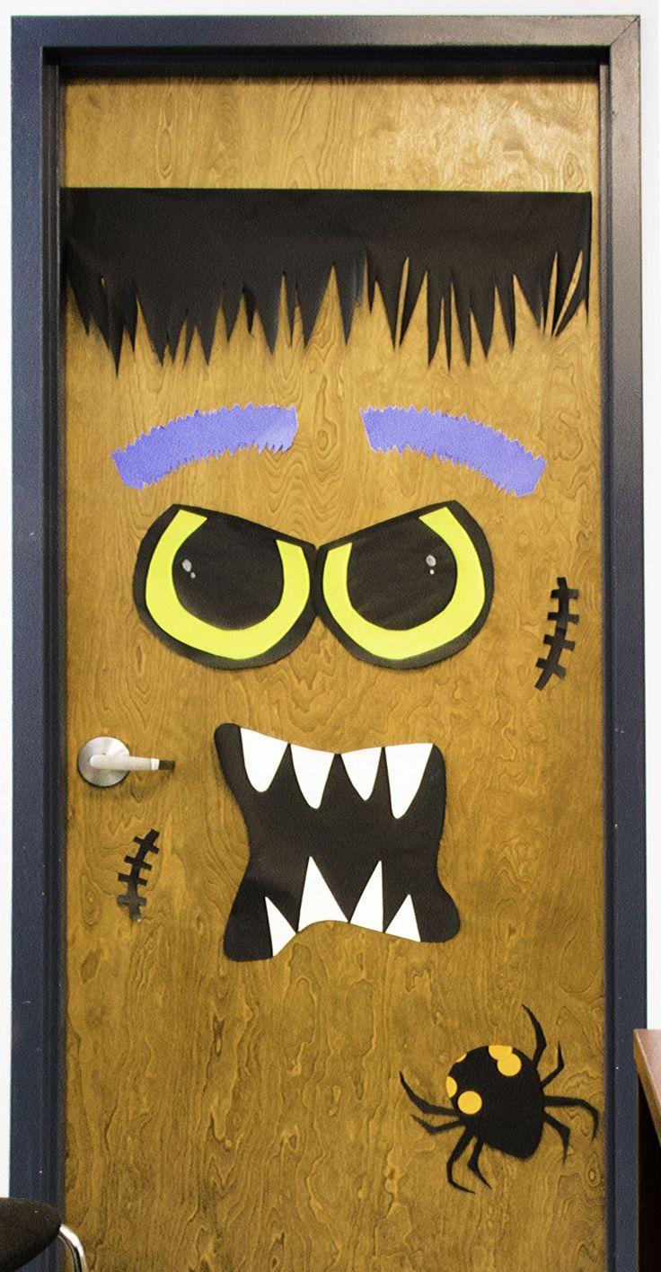 DIY Halloween Door Decorations Halloween, Blog and