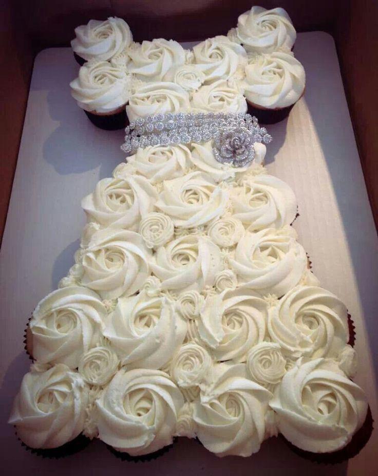 Bridal Shower Cupcake Idea Craft Ideas Pinterest