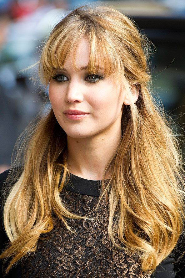 17 Best Ideas About Jennifer Lawrence Bangs On Pinterest