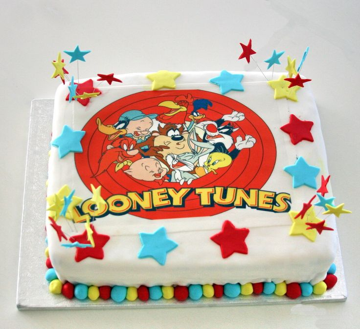 Looney Tunes Cake Boys Amp Fun Pinterest Looney Tunes