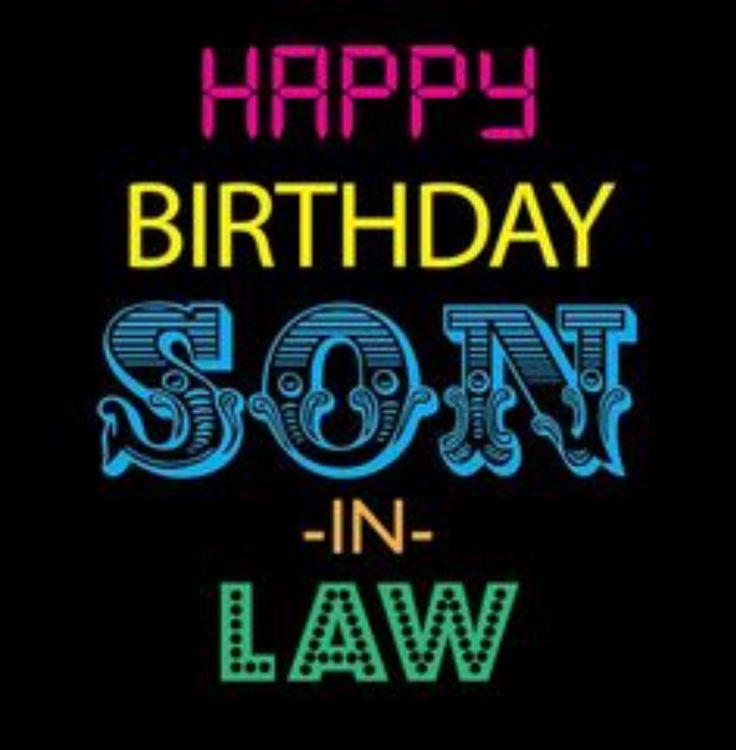 Happy birthday son in law birthday quotes pinterest