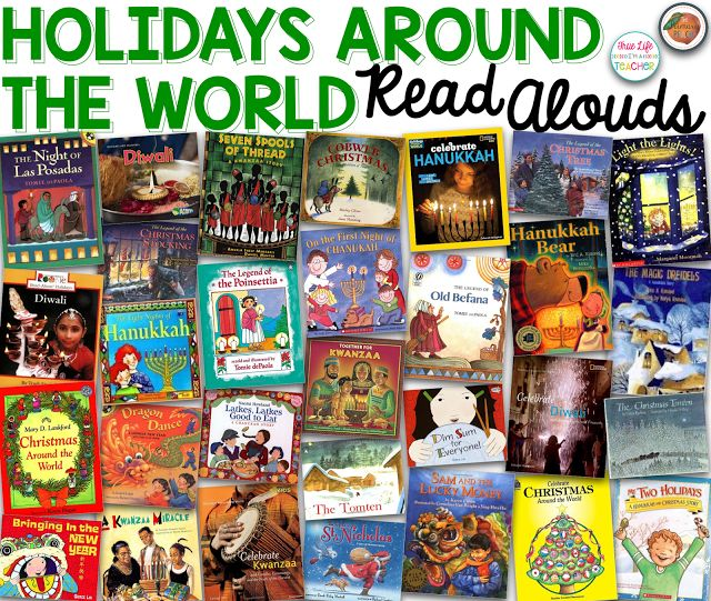 Holidays Around the World Read Aloud ideas with a