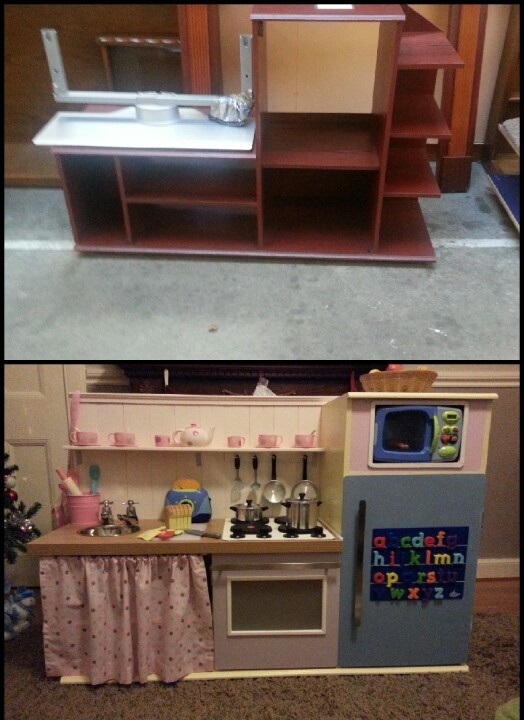 Diy toy kitchen Ideas For the Kids Pinterest Toys