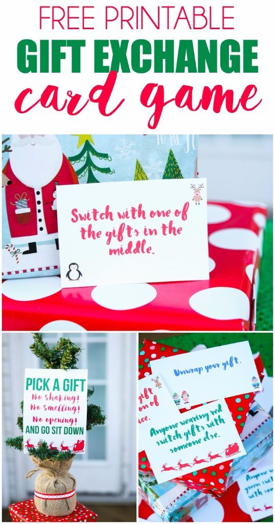 17 Best Ideas About Gift Exchange Games On Pinterest
