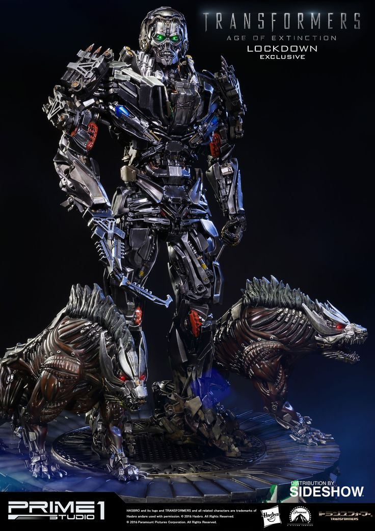 Transformers Lockdown Polystone Statue by Prime 1 Studio