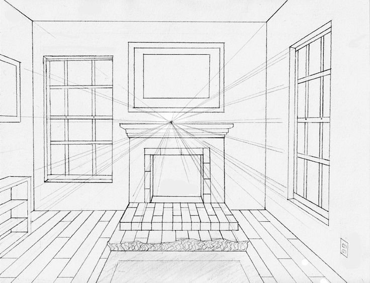 78 Best Images About One Point Perspective On Pinterest