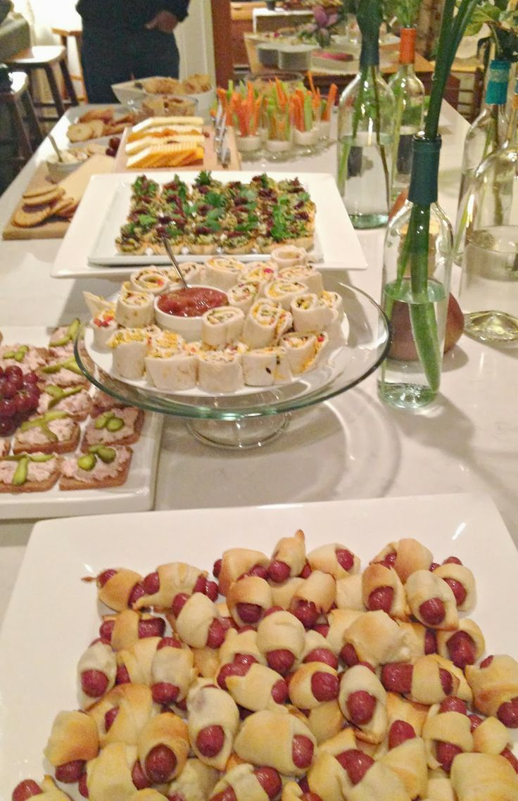 buffet spread for a party Party Planning Pinterest